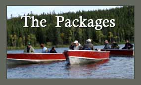 Foster Lake Lodge Packages